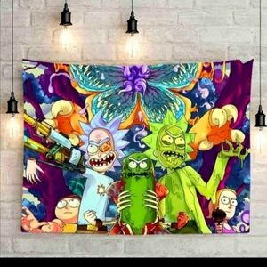 Rick and Morty Tapestry
